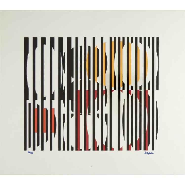 Untitled Kinetic Mirr... by  Yaacov Agam - Masterpiece Online