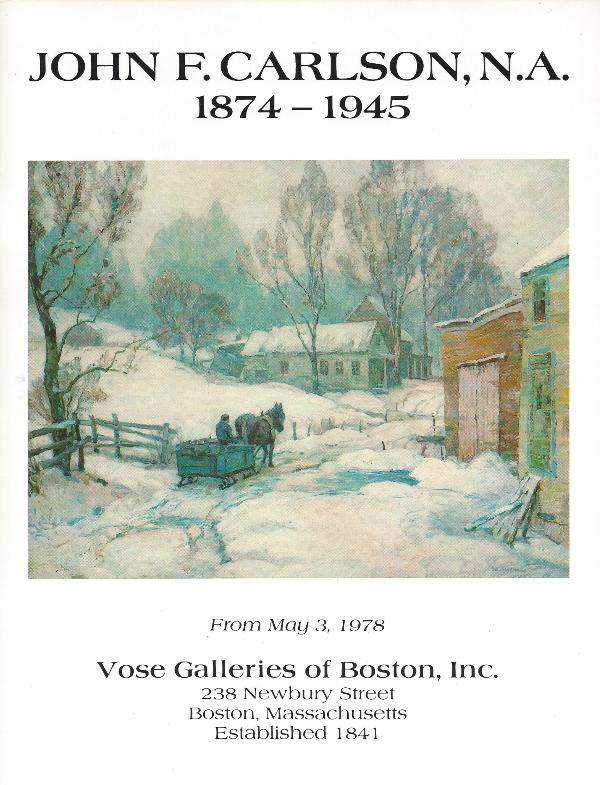 John F. Carlson, N.A... by   Vose Galleries Of Boston, Inc. - Masterpiece Online