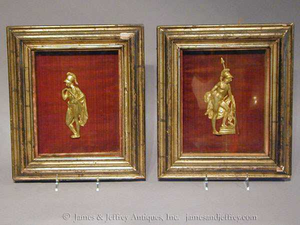 Pair of Shadowboxes by  Continental  - Masterpiece Online