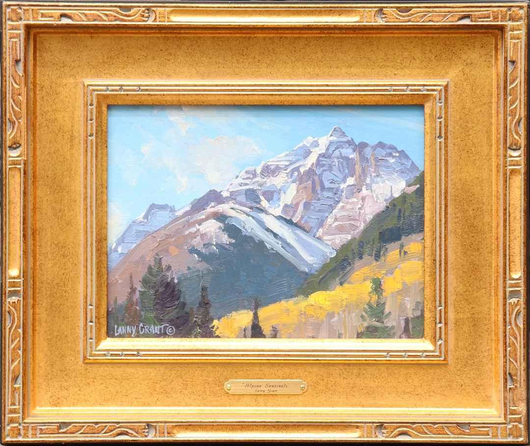 Alpine Sentinels by  Lanny Grant - Masterpiece Online