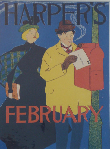 Harpers february matt... by  Edward Penfield - Masterpiece Online