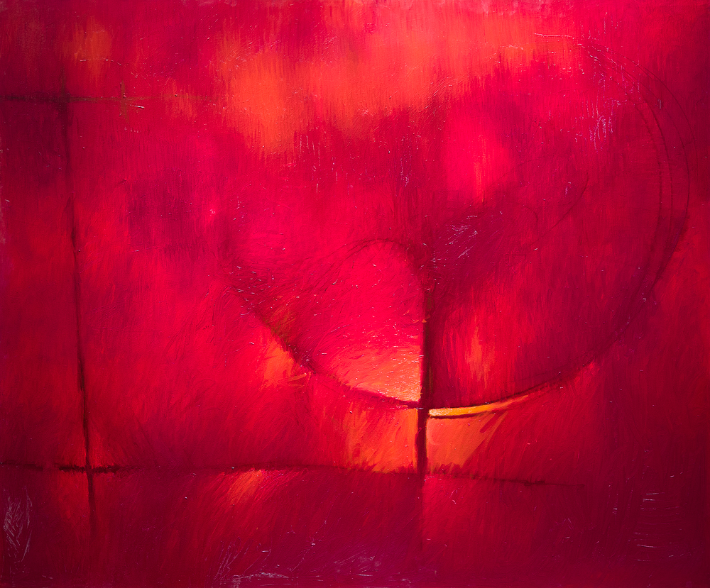 Untitled (Red) by Mr. Fidel Rodriguez - Masterpiece Online