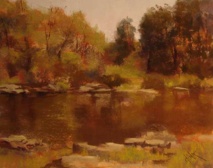 Green Cove by Mrs Dina Gregory - Masterpiece Online