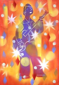 Groovy Dude 1967 by  Dan Yaccarino - Masterpiece Online