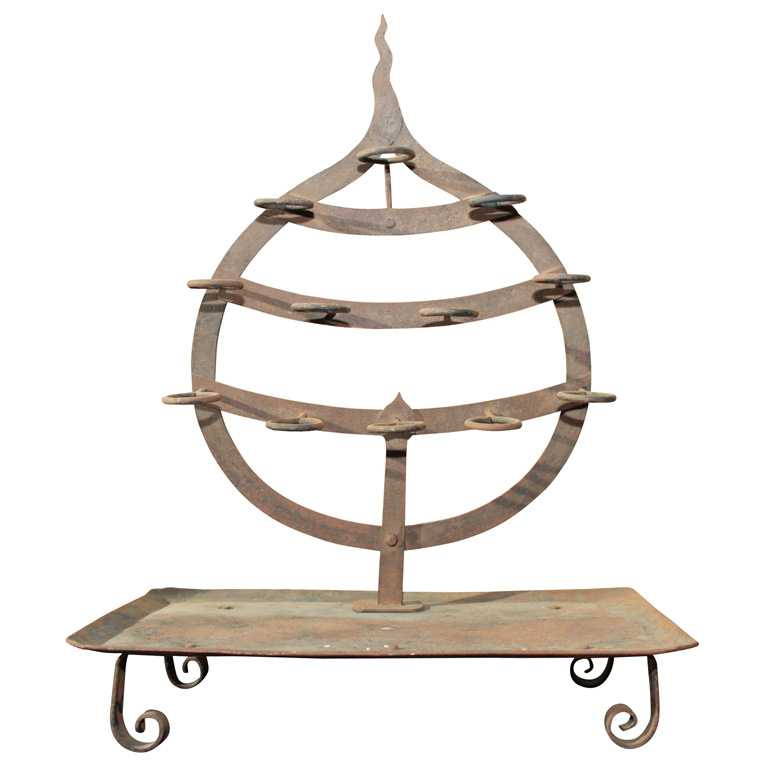 Japanese Iron Candle ... by    - Masterpiece Online