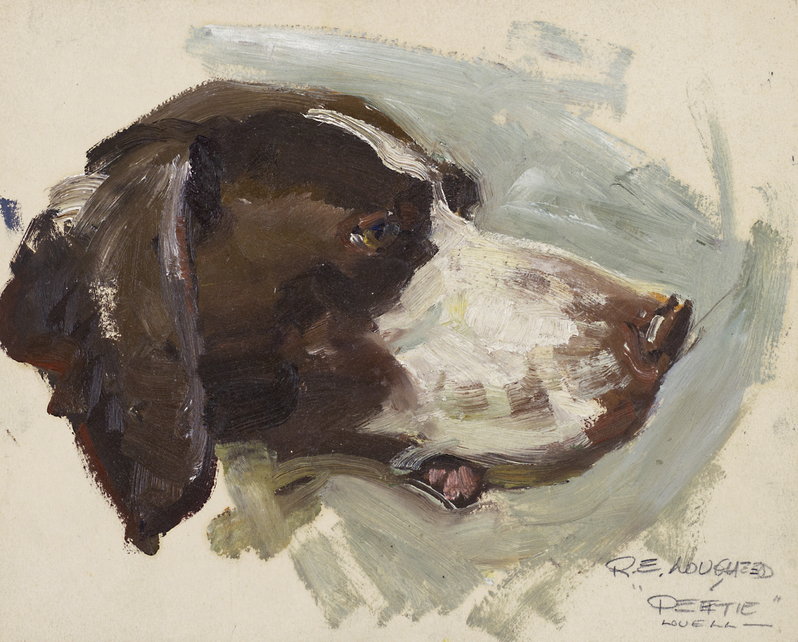 Tom Lovell's Petie by  Robert Lougheed - Masterpiece Online