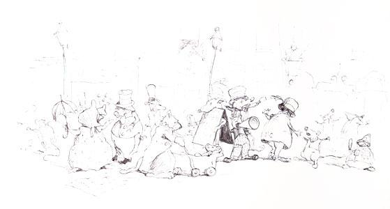 Street Scene II  by  John A. Rowe
