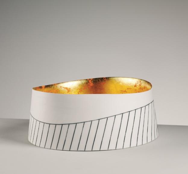 24kt Gold Bowl  by  Lara Scobie