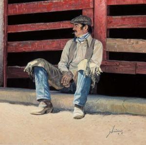 Taking a Break by  Gordon Snidow - Masterpiece Online