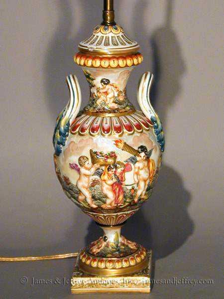 Ceramic Lamp by  Italian  - Masterpiece Online