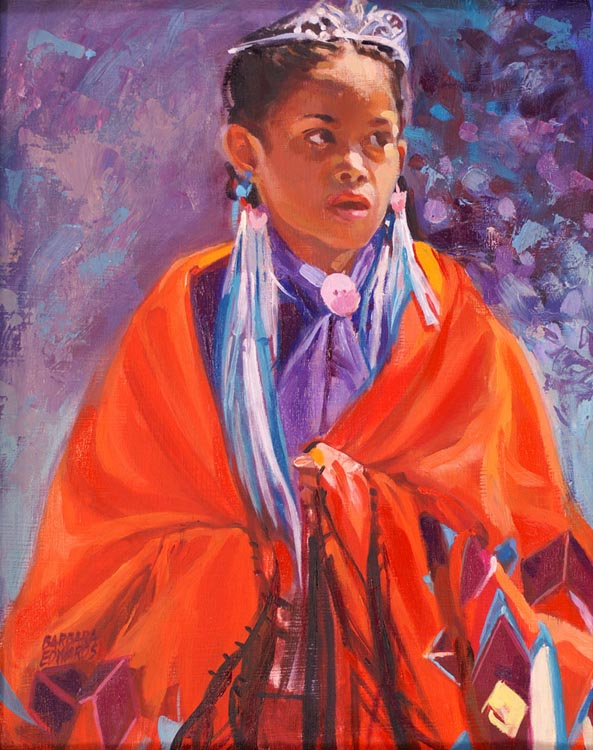 SOLD- PowWow Princes... by  Barbara Summers Edwards - Masterpiece Online
