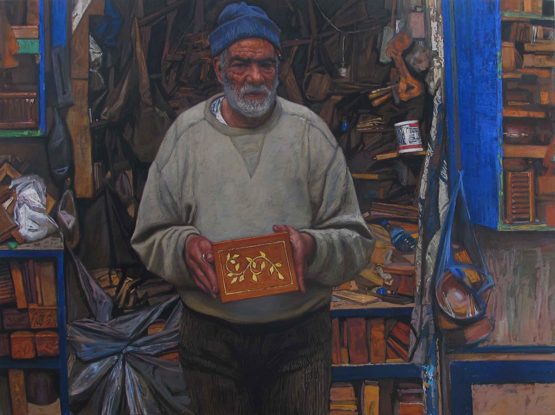 Man with a Magic Box by  Daud Akhriev - Masterpiece Online