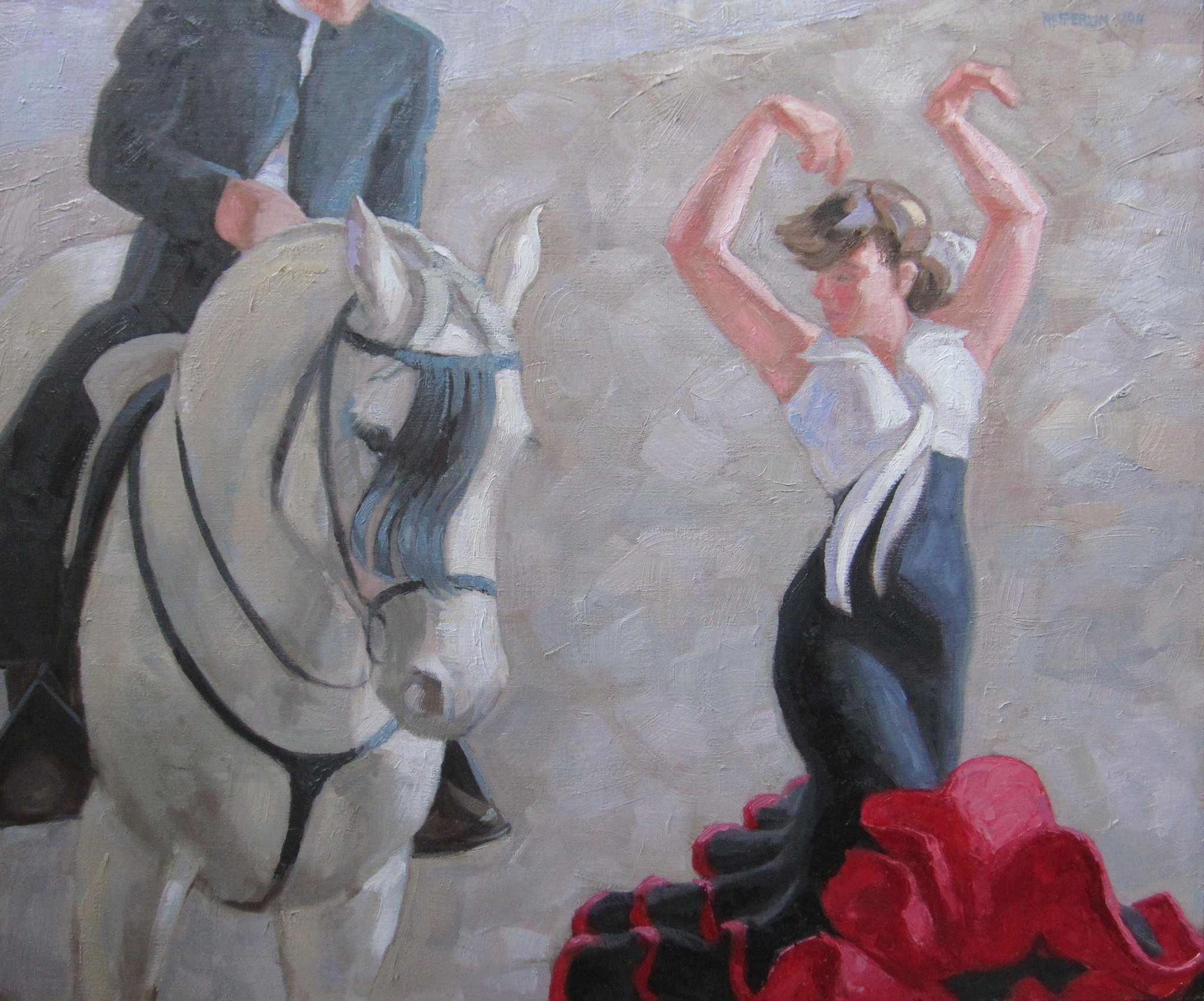 Spanish Duet Reproduc... by  Melissa Hefferlin - Masterpiece Online