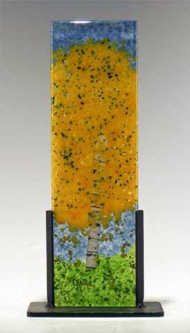 Fall Aspen by  Stephanie Fluke - Masterpiece Online