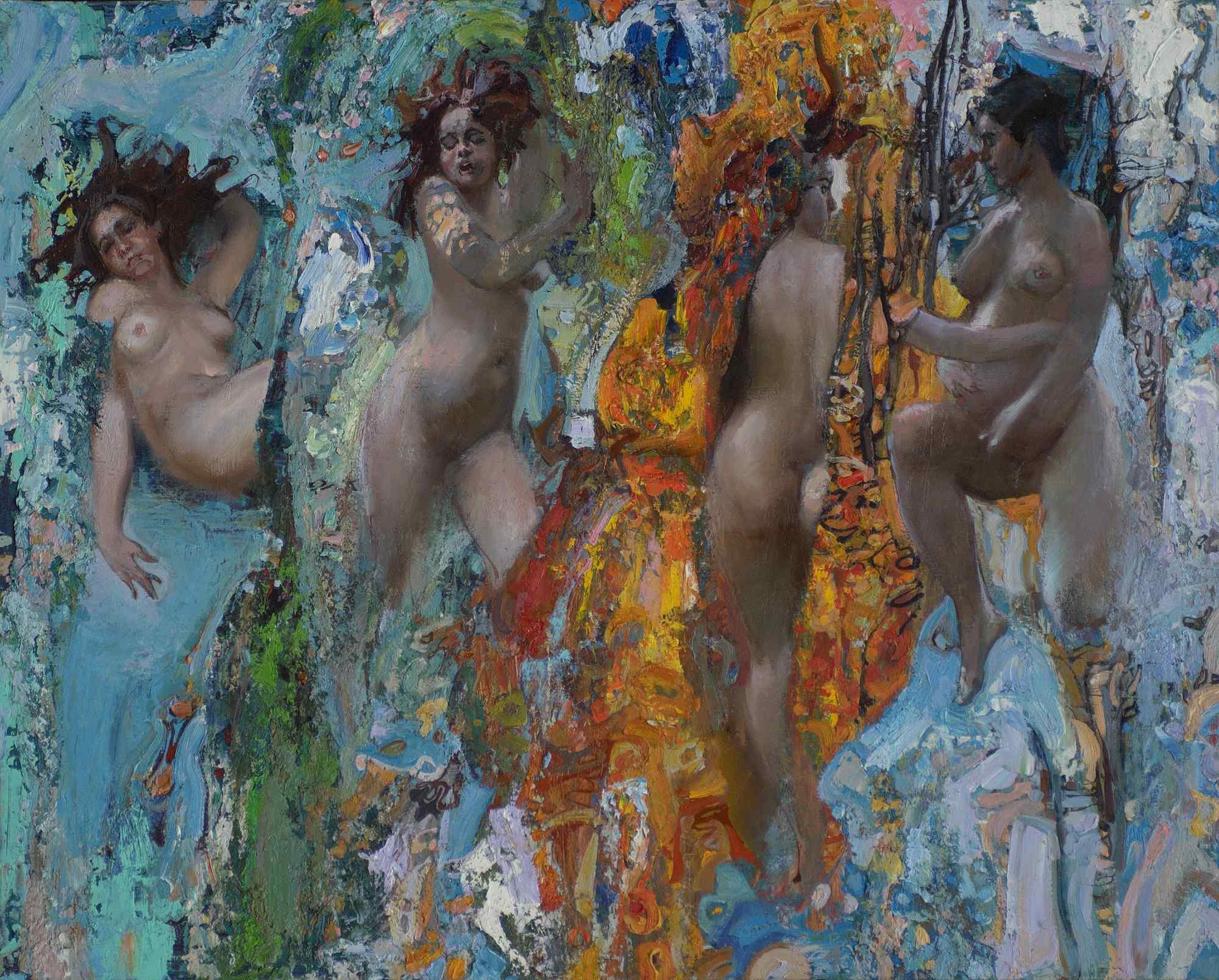 Seasons by  Daud Akhriev - Masterpiece Online
