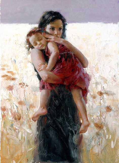 Maternal Instincts by  Pino  - Masterpiece Online