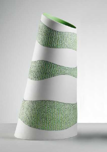 Large Tilted Vessel #1 by  Lara Scobie - Masterpiece Online