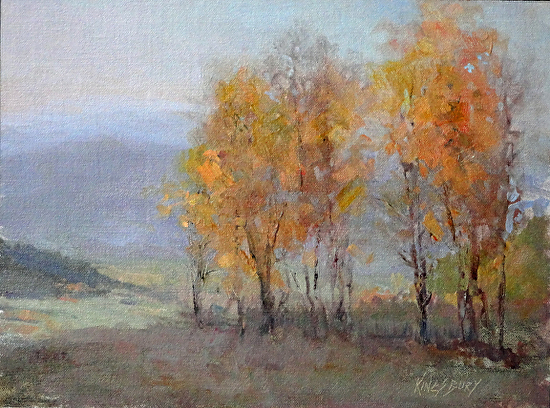 Early Morning Aspen by Ms Peggy Kingsbury - Masterpiece Online