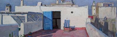 Rooftop Serenity by  Daud Akhriev - Masterpiece Online