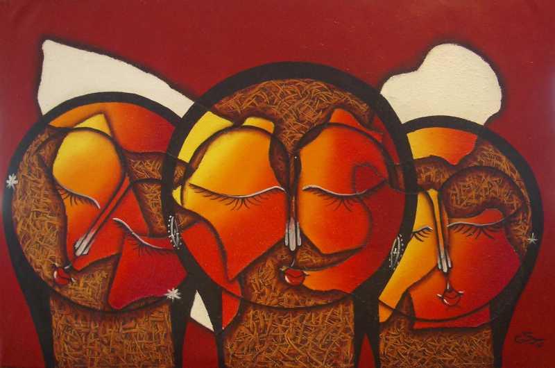 Triumvirate by Mr. S. Garza - Masterpiece Online