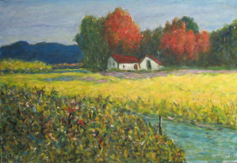 Field of Yellow by  Andres  Morillo - Masterpiece Online