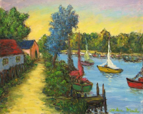 Delta River by  Andres  Morillo - Masterpiece Online
