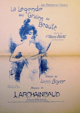 Music Sheets- La lege... by  Ferdinand Misti-Mifliez - Masterpiece Online