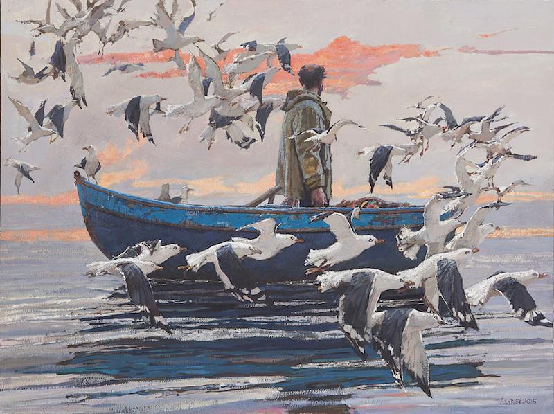 Red Cloud by  Daud Akhriev - Masterpiece Online