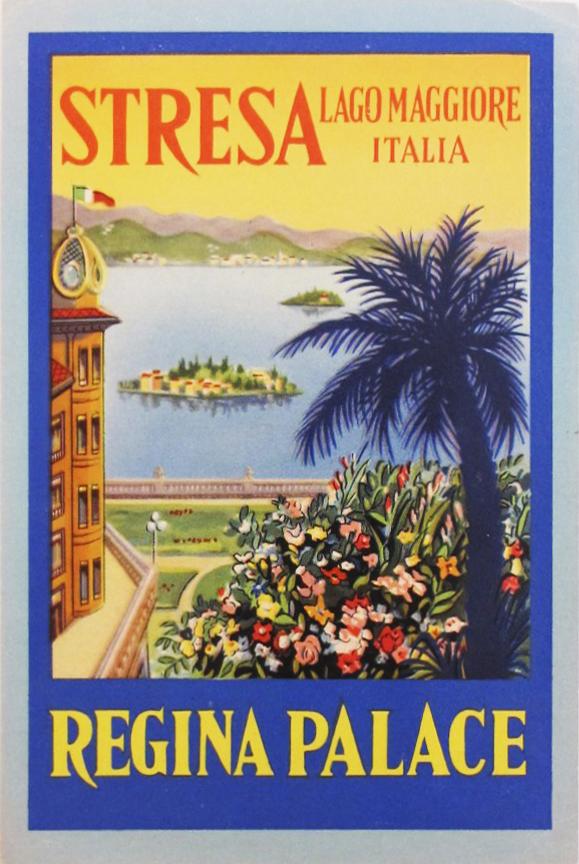 Hotel label - Stresa ... by    - Masterpiece Online