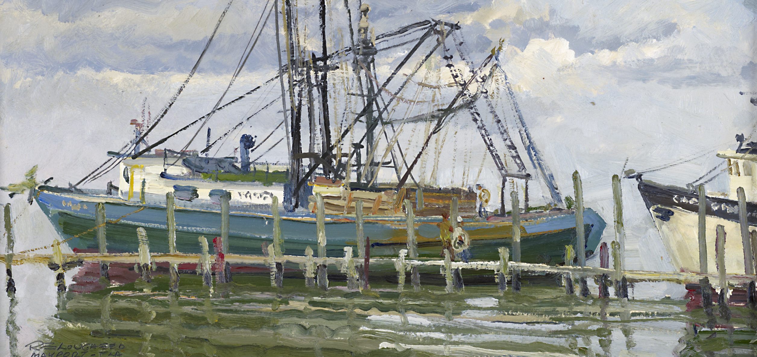 Shrimp Boat by  Robert Lougheed - Masterpiece Online