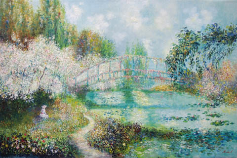 Giverny by   Michel - Masterpiece Online