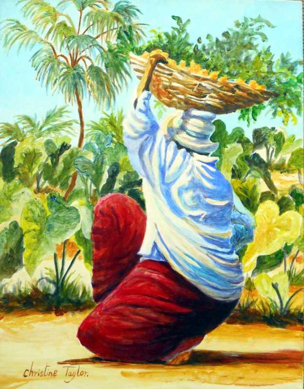 Dung    Basket II by Mrs. Christine Taylor - Masterpiece Online