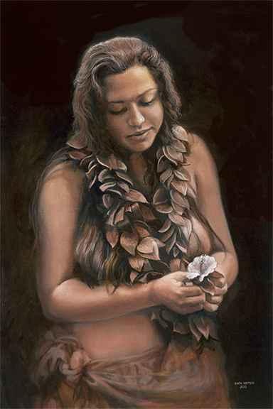 Lilinoe by  Edwin B. Kayton - Masterpiece Online