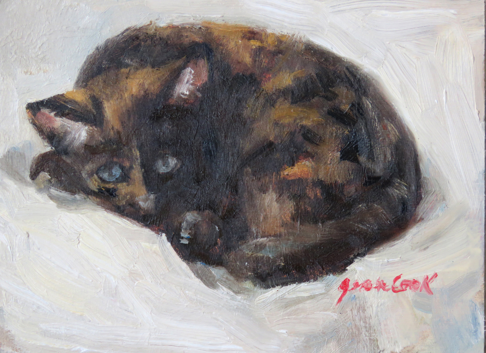Penny at Naptime by  Jean Cook - Masterpiece Online
