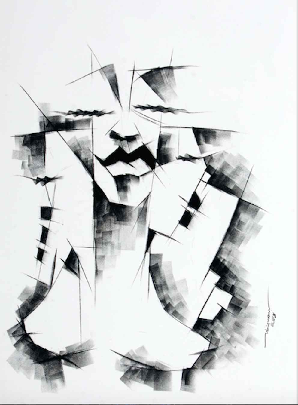 Faces I by Mr Ubiomo Ogheneroh - Masterpiece Online