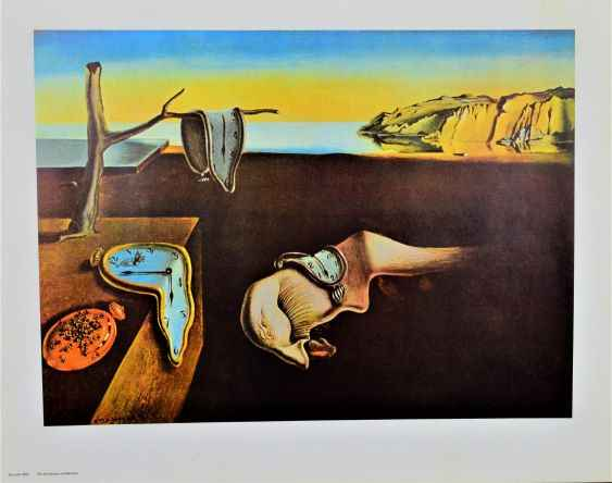 The Persistence of Me...  by  Salvador Dali
