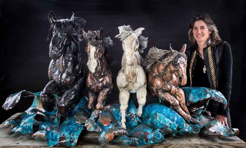 The Horses by  Stevie Jo Lake - Masterpiece Online