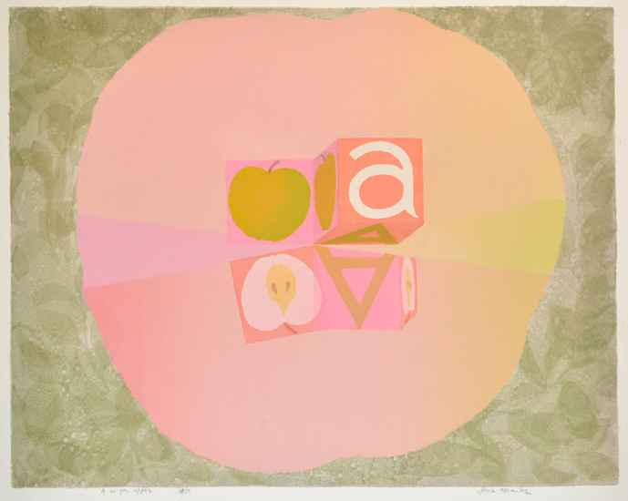 A is for Apple by  Jane Kraike (1910-1991) - Masterpiece Online