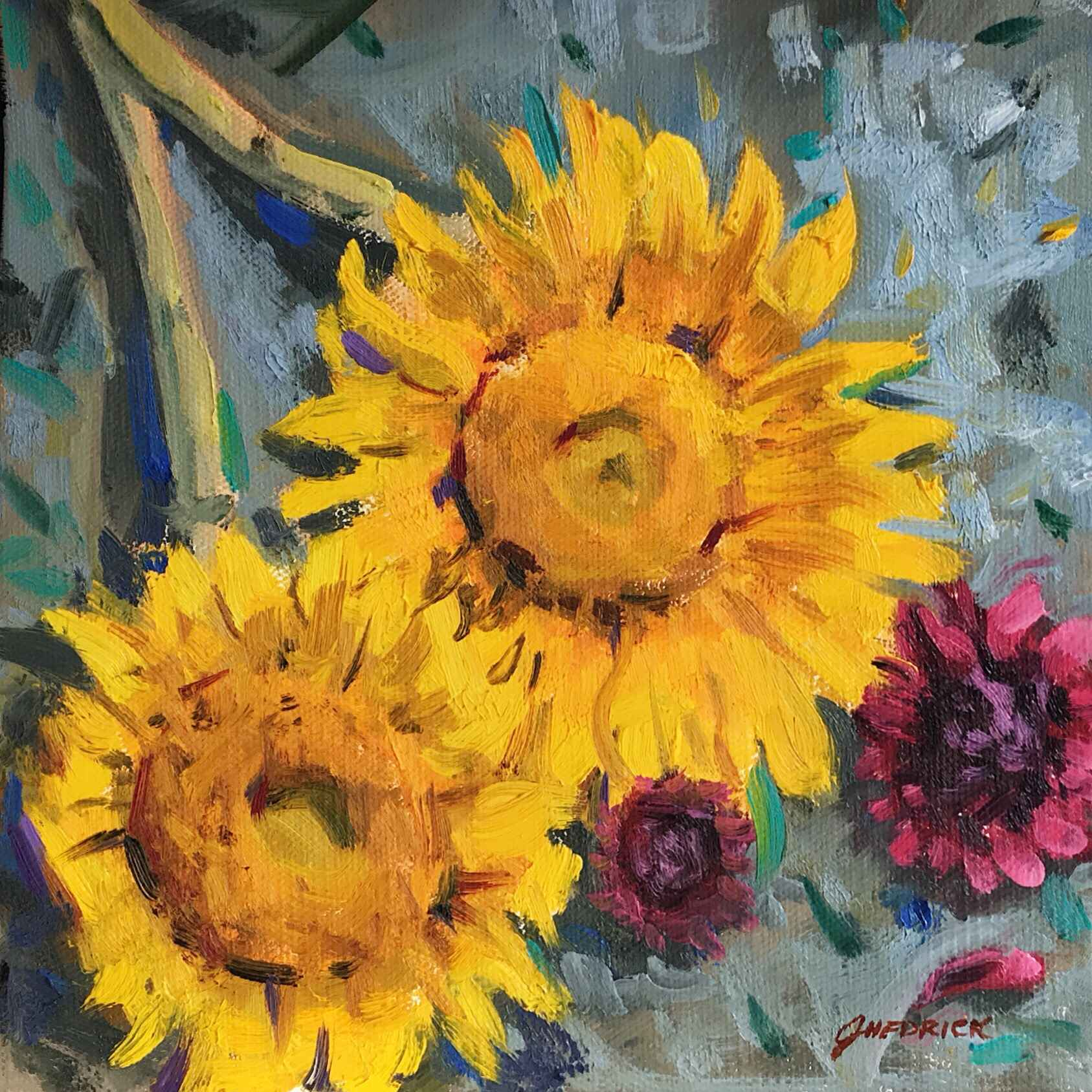 Morning Flowers 2 by  Jessica Hedrick - Masterpiece Online