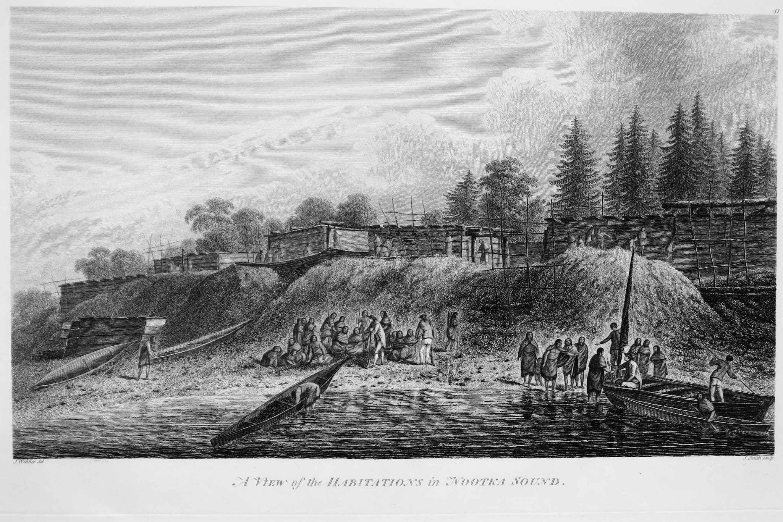 A View of the Habitat... by  John Webber (1752-1793) - Masterpiece Online