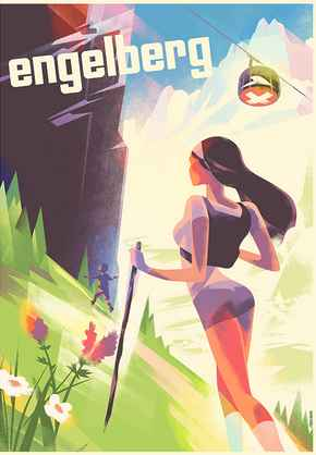 Engelberg Summer by  Mads Berg - Masterpiece Online