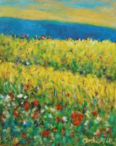 Wild Mustard in Bloom