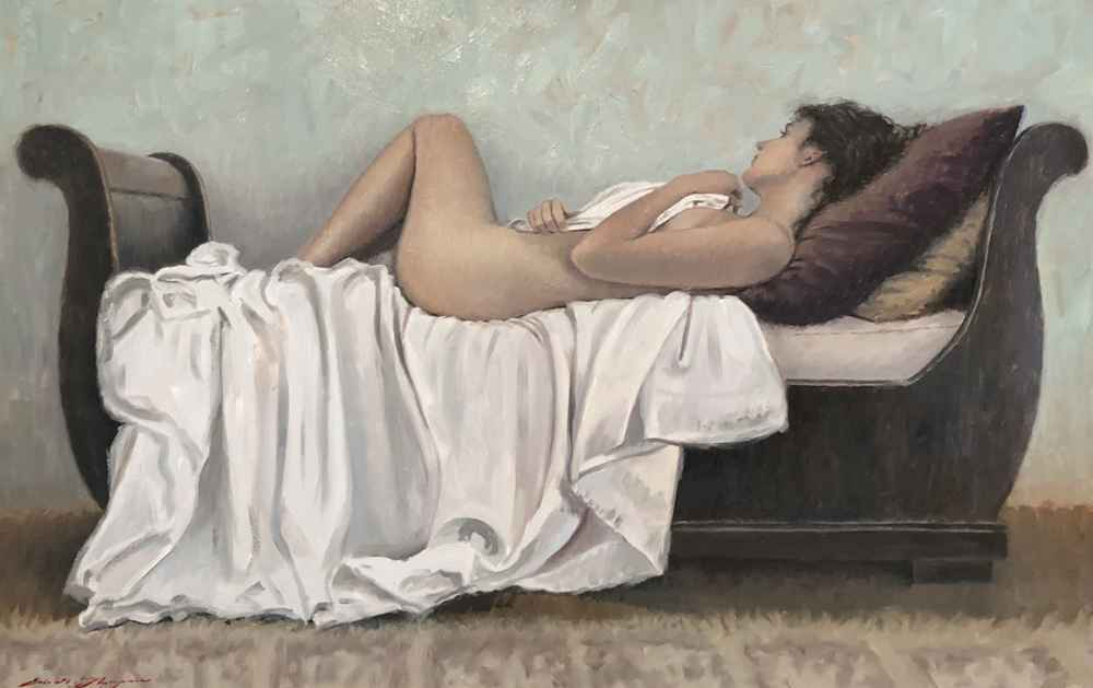 Reclining Nude  by  Eric G. Thompson