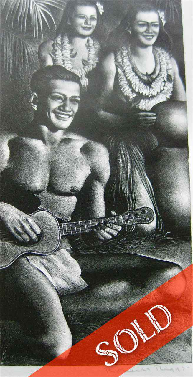 Hawaii #10 by  Robert Riggs (1896-1970) - Masterpiece Online