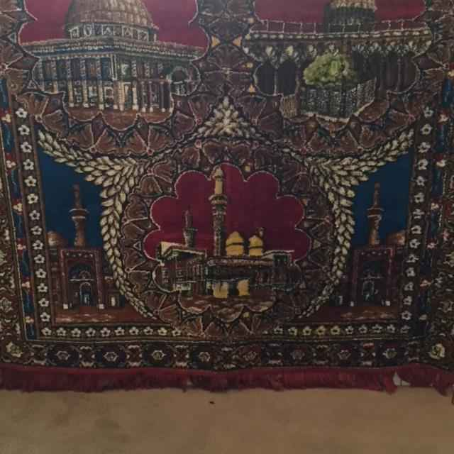 Islamic Prayer Rug by  Unknown Artist - Masterpiece Online