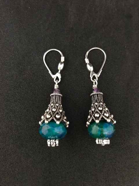 Amethyst Silver and T... by Mrs Larissa Hale - Masterpiece Online