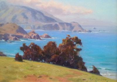 Rocky Point Morning by  Sally  Jordan - Masterpiece Online