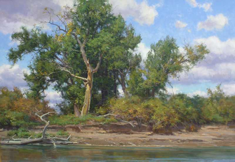 Banks of the Missouri by  Clyde Aspevig - Masterpiece Online