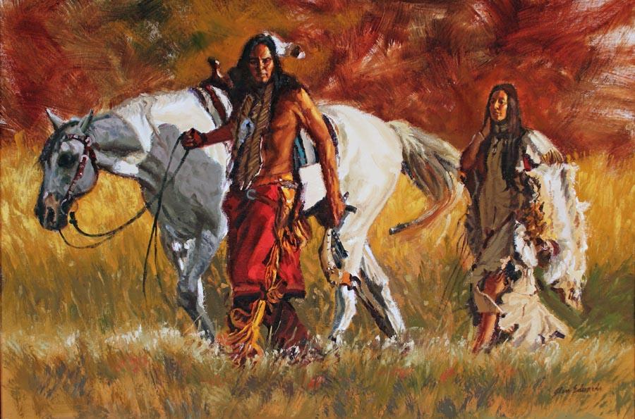 Lakota Trail by  Glen Edwards - Masterpiece Online
