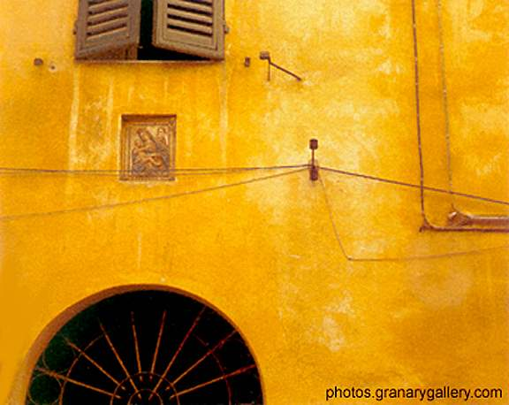 Yellow Ochre Wall, Si... by  Alison Shaw - Masterpiece Online